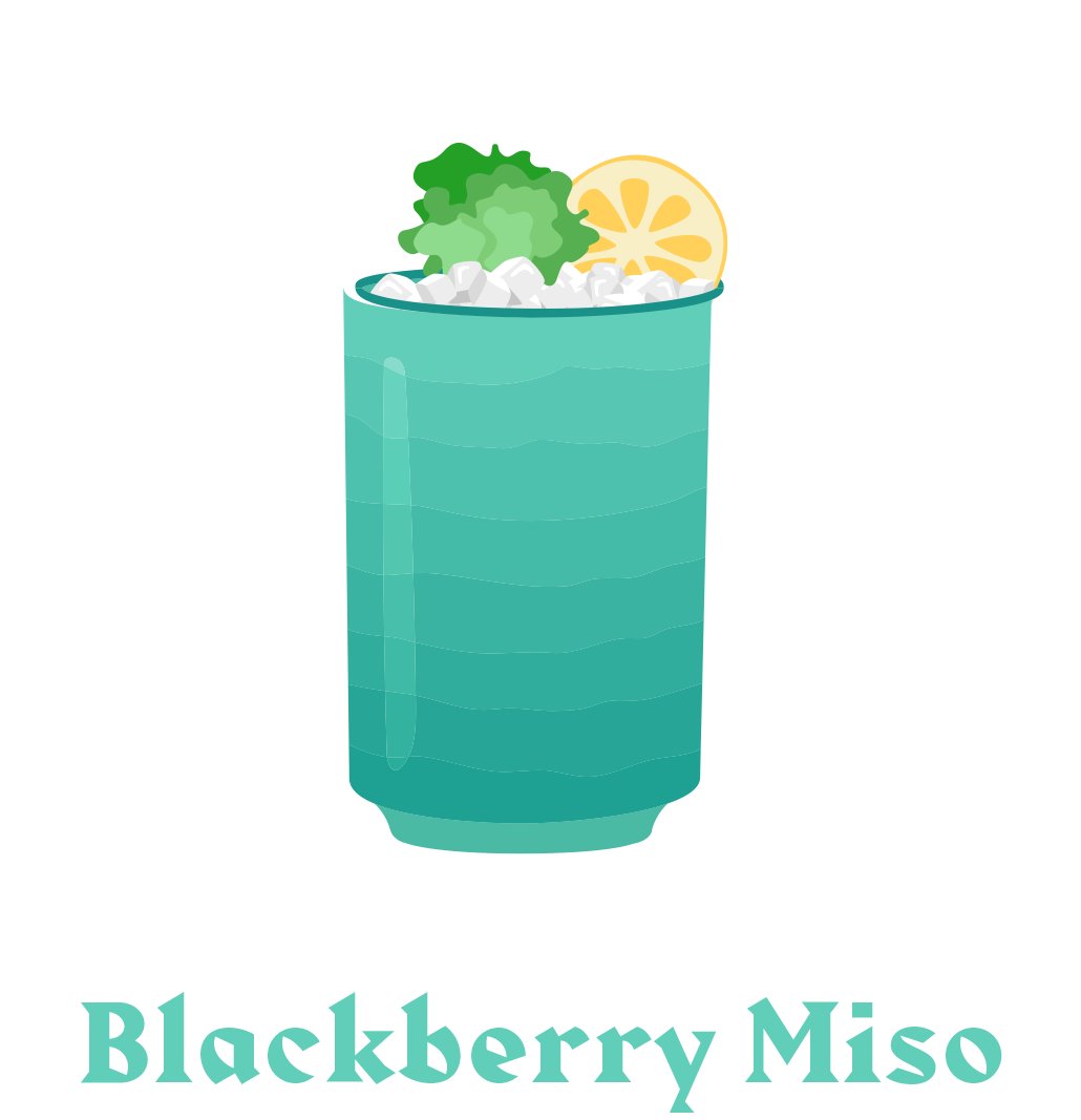 blackberry-miso